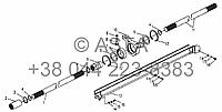 Приводной вал коробки передач - передняя на YTO X854, фото 1