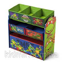 """Органайзер - ящик для игрушек """"Ниндзя Черепашки Disney"""" Delta Children"""