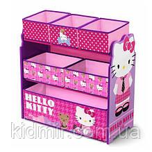 """Органайзер - ящик для игрушек """"Хелоу Китти Disney"""" Delta Children"""