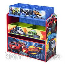 """Органайзер - ящик для игрушек """"Чудо машинки Disney"""" Delta Children"""