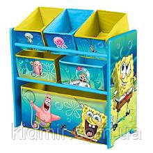 """Органайзер - ящик для игрушек """"Губка Боб Disney"""" Delta Children"""