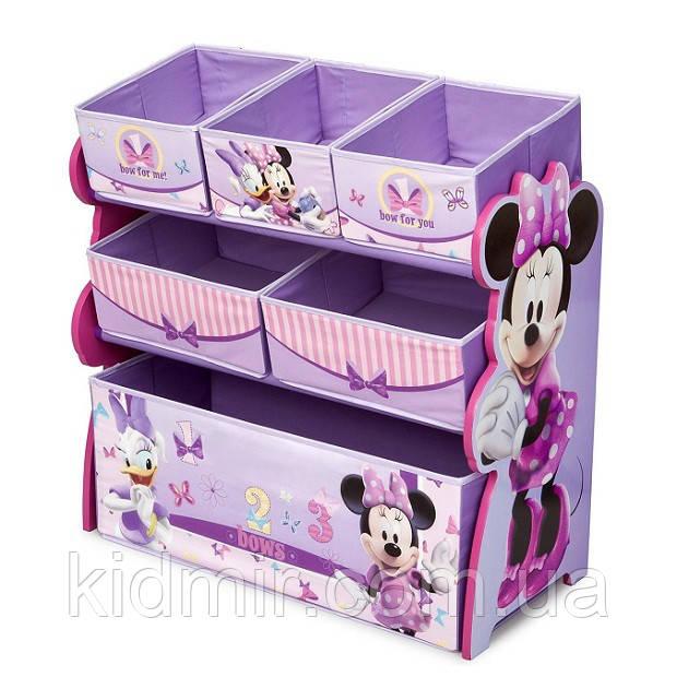 """Органайзер - ящик для игрушек """"Минни Disney"""" Delta Children"""
