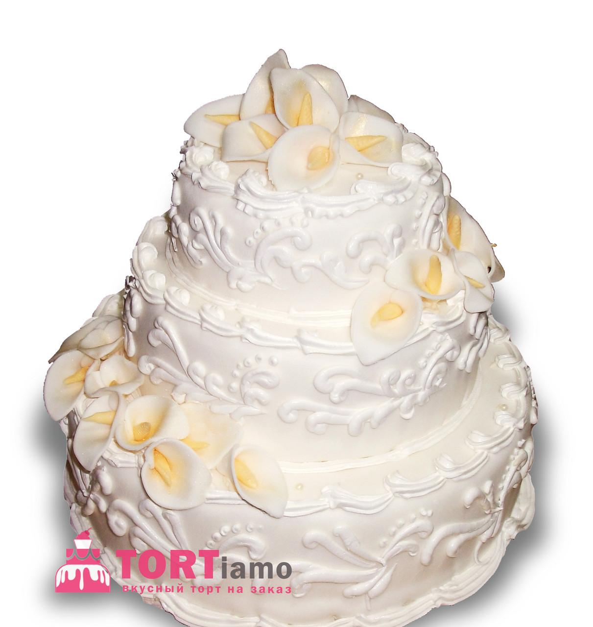 """Свадебный торт на заказ """"Нежность невесты"""""""""""