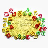 """3D форми для пряників - Набір вирубок """"Алфавіт №2 - Друковані Літери"""" - 6 см"""