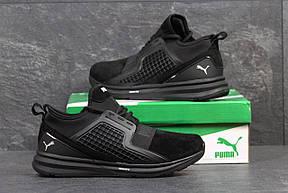 Мужские кроссовки Puma Ignite Limitless,замшевые,черные 44р, фото 2