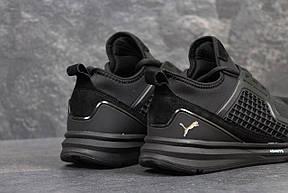 Мужские кроссовки Puma Ignite Limitless,замшевые,черные 44р, фото 3
