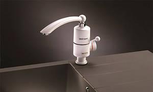 Проточный водонагреватель Delimano электрический на кран смеситель