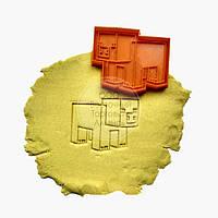 """3D формы для пряников - Вырубка-оттиск """"Майнкрафт - Свинка"""", фото 1"""