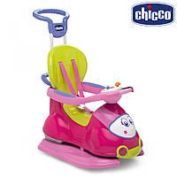"""Каталка Толокар Chicco Quattro """"Кватро 4в1"""" розовый 60703.10"""