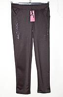 Спортивные штаны женские полубатальные со стразами размер 52-60 Серия