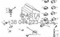 Элементы управления - электрическая система на YTO X854
