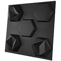 """Форма для шестигранных 3D панелей """"Стоун"""" 245*215 мм"""