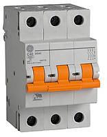 Автоматический выключатель 3p. 10А.(Domus 6 kA)