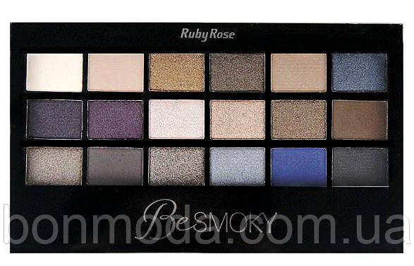 "Палетка теней с праймером Ruby Rose HB-9926 ""Be Smoky"""