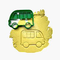 """3D формы для пряников - Вырубка - """"Автобус"""""""