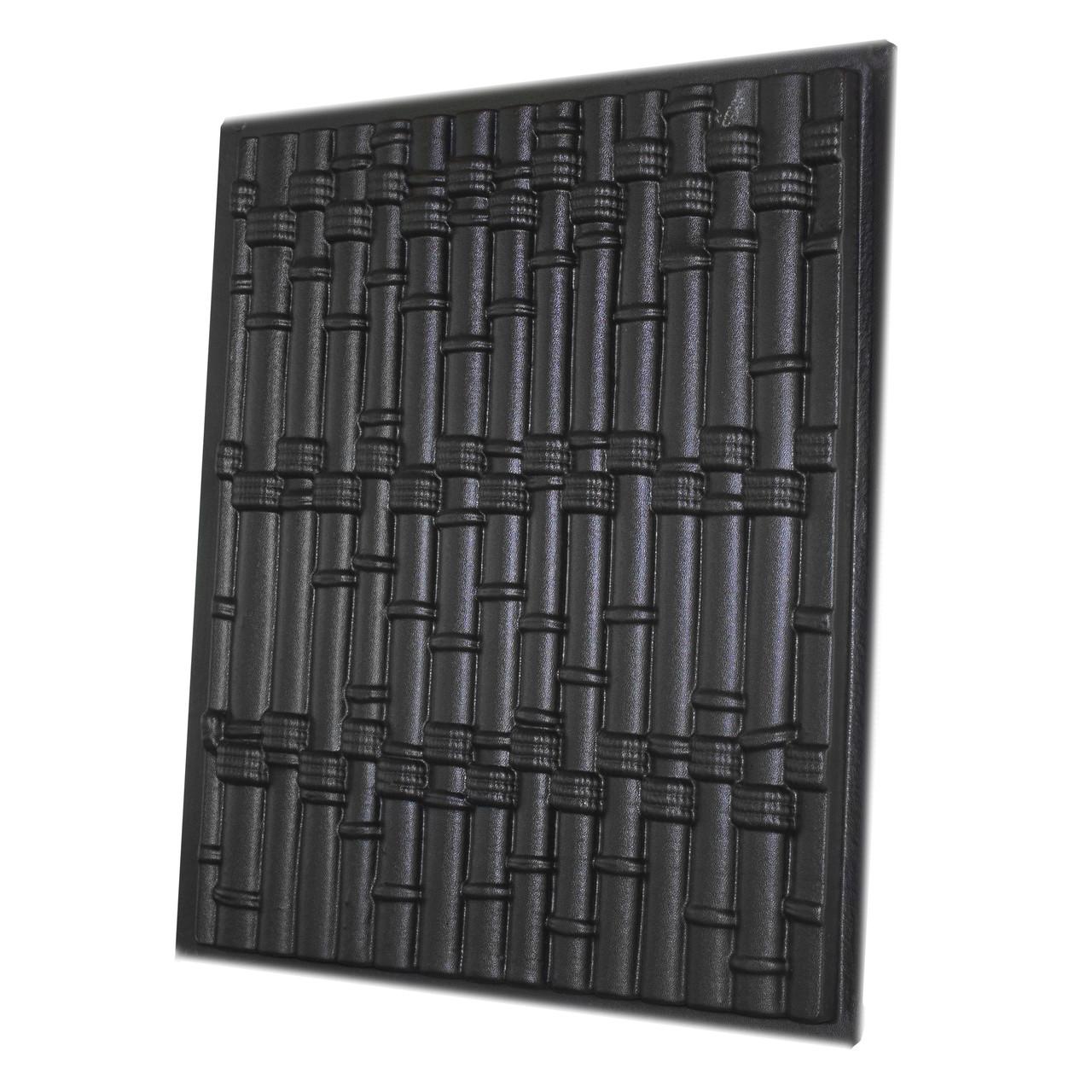 """Форма для 3D панелей """"Бамбук"""" 500*400 мм"""