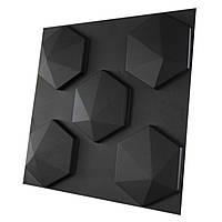 """Форма для шестигранных 3D панелей """"Пик 2.0"""" 190*175 мм"""