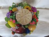 Домовой с фруктами на шляпе, 205/245 (цена за 1 шт. + 40 гр.), фото 2