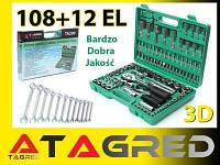Набор  инструментов 108 шт +12 ключей Torx Tagred , фото 1