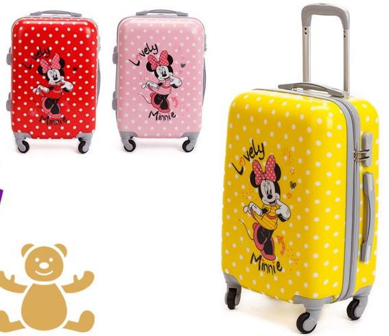 """Детский чемодан на колесиках """"Микки Маус"""""""