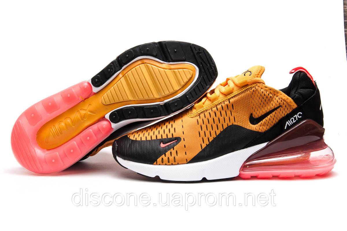 Кроссовки мужские ► Nike Air Max 270,  оранжевые (Код: 13425) ► [  41 (последняя пара)  ] ✅Скидка 32%