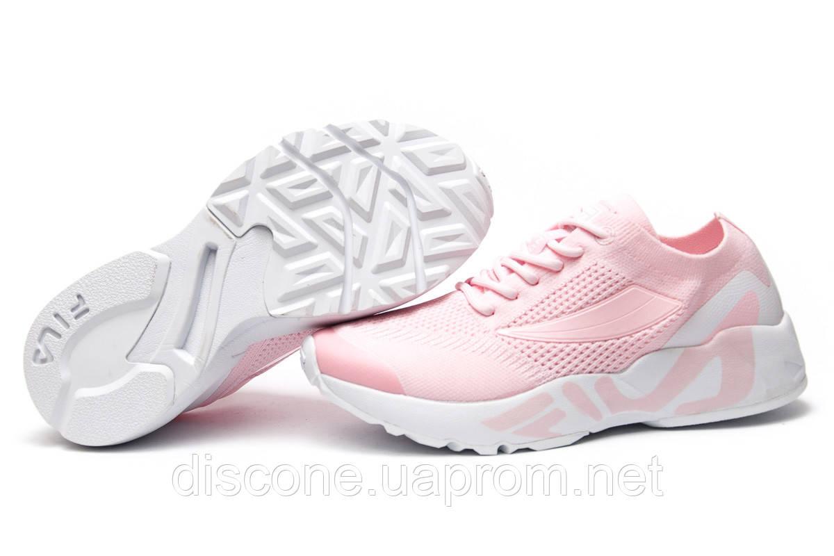 Кроссовки женские 13674 ► Fila Mino One, розовые ✅Скидка 31% ► [ 36 ]