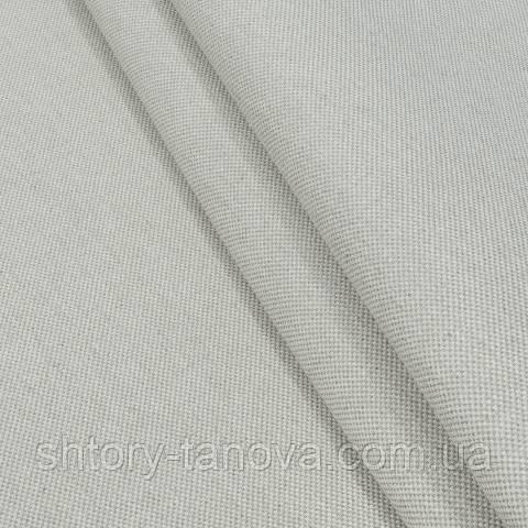 Декоративная ткань, лён, однотонная беж