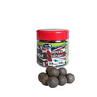 Бойлы насадочные вареные CarpZone Boilies English series Instant Hookbaits Halibut 20mm  / 20pc