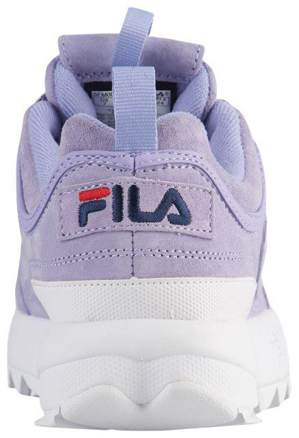 66c8ea50dd6f ... фото · Кроссовки Кеды (Оригинал) Fila Disruptor II Premium Suede  Lavender White