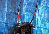 Трос ручника левый, 36531-EA500, Nissan Pathfinder (Ниссан Пасфаиндер)