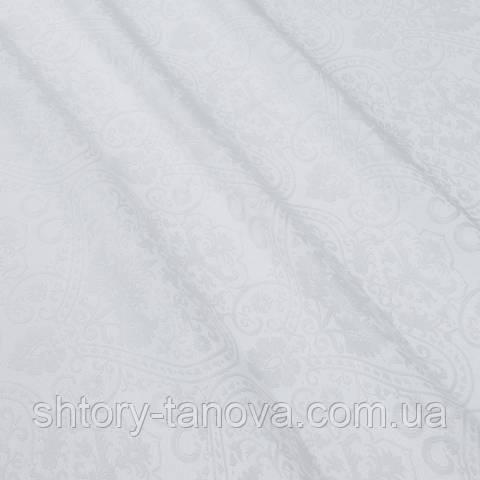 Декоративная ткань с принтом белый