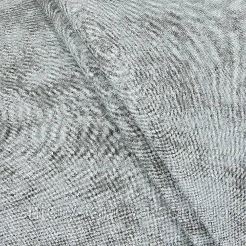 Декоративная ткань для штор, пятна серый