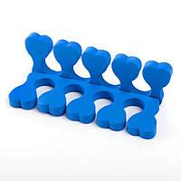 Растопырки для педикюра синие