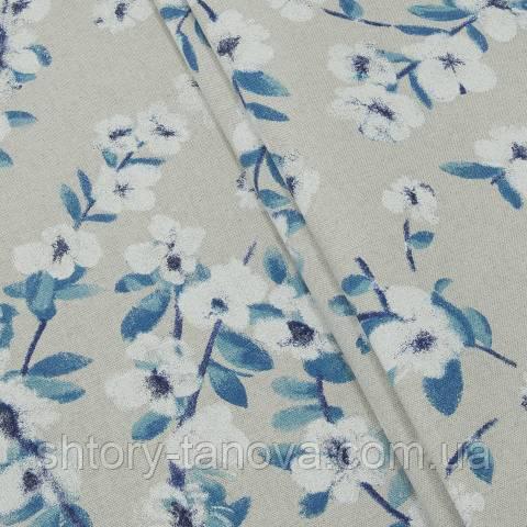 Декоративная ткань для штор, сакура