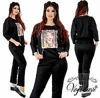 f5a5a7712046e Женский спортивный костюм с змейкой на спине т.м. Vojelavi A1181 ...