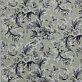 Декоративна тканина для штор, квітковий вензель, сіро-бежевий, фото 2