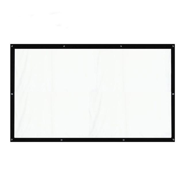 Екран для проектора 1,2*2,45 м