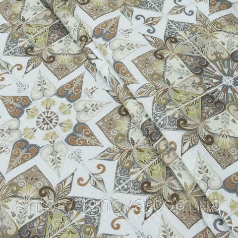 Декоративная ткань для штор с принтом
