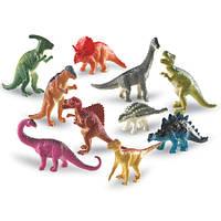 """Набор реалистичных фигурок """"Динозавры"""" Dinosaur Counters Learning Resources/Ленинг ресурс 10 шт LER 0811"""