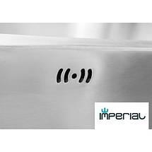 Кухонная мойка Imperial из нержавеющей стали 6350 satin 08mm , фото 3