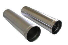Труба водосточная металлическая оцинкованная Ø 100 мм