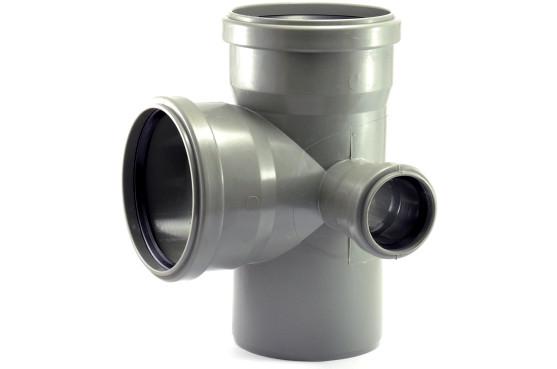 Крестовина канализационная 110х110х50х50 90*внутренняя канализация