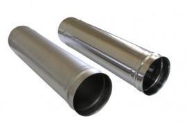 Труба водостічна металева оцинкована Ø 180 мм