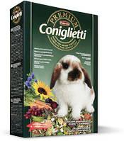 Padovan Premium Coniglietti для декоративных кроликов 500 гр.