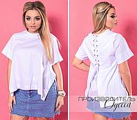 714fc3ef7dac Блуза белая Бурано большого размера недорого в Украине интернет-магазин  производитель Одесса р. 48