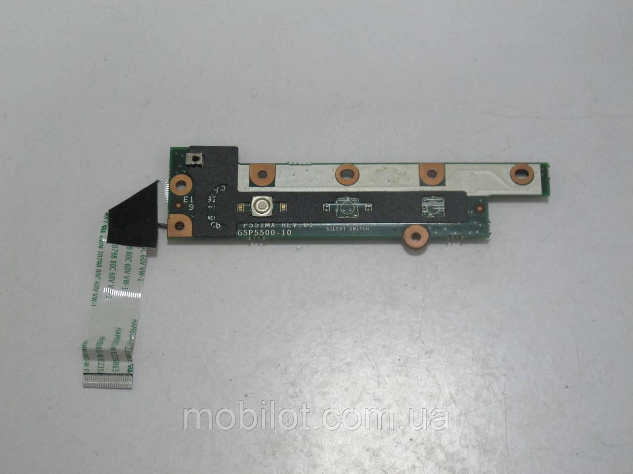 Кнопка включения Fujitsu Amilo Xi2528 (NZ-6654)
