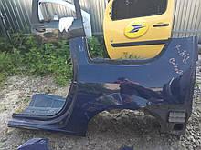 Кузов задняя левая часть Рено Логан МСВ б/у