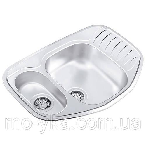 Кухонна мийка з нержавіючої сталі СМІТТЯ 776.507.15(полірування)