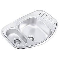 Кухонная мойка из нержавеющей стали COР 776.507.15(полировка)