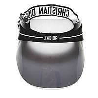 Солнцезащитный козырек Dior club 1 Visor цвет серый